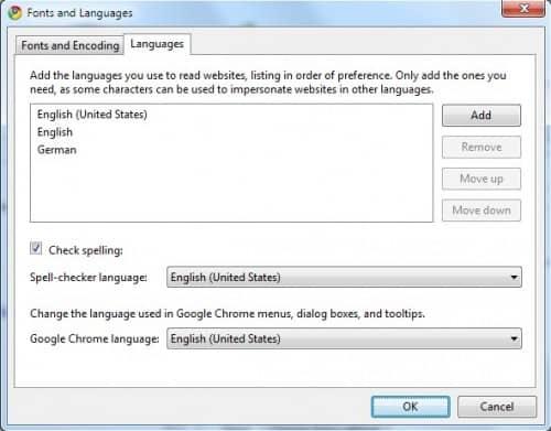 Как добавить языки перевода в Google Chrome.