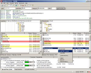 Протокол пересылки файлов.