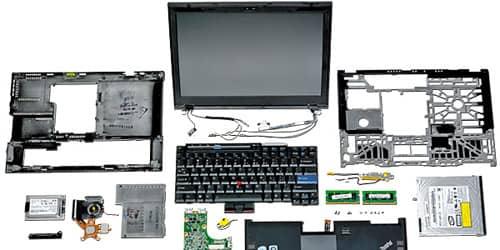 Поиск и устранение неисправностей аппаратных сбоев ноутбуков: не включается дисплей.