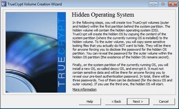 Скрытие операционной системы.
