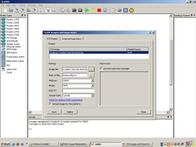 Руководство GNS3 для пользователей Windows.