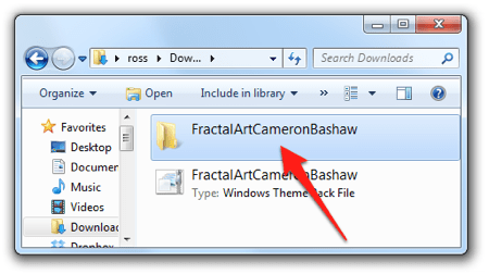 Как извлечь содержимое темы Windows в файл.
