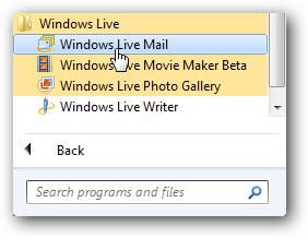 Установка Windows Live Essentials в Windows 7.