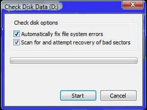 check-disk-data