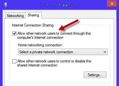 wireless-access-enternet-properties