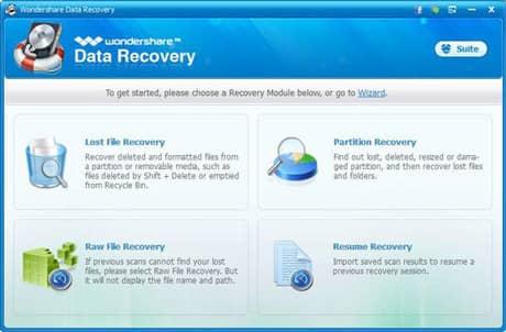 wondershare-data-recovery-standard-mode