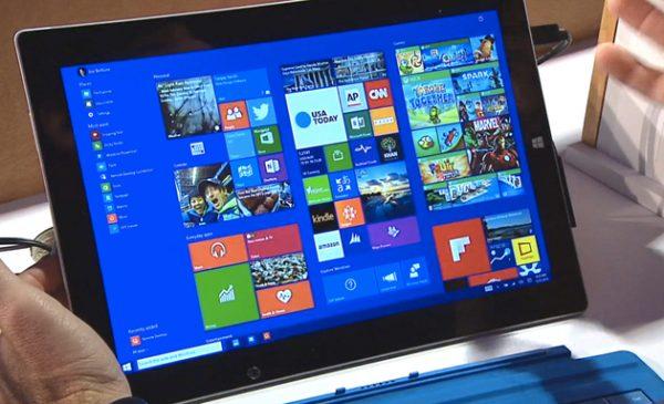 Плитки Windows 10