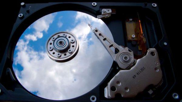 сломанный жёсткий диск